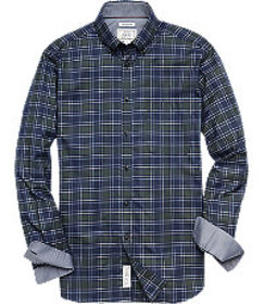 1905 Collection Tailored Fit Button-Down Collar Pl