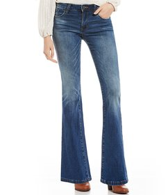 STS Blue Mini Flare Bootcut Jeans