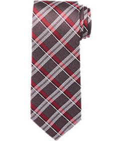 Reserve Collection Tonal Plaid Tie CLEARANCE