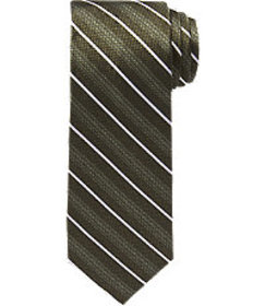 Reserve Collection Classic Stripe Tie CLEARANCE
