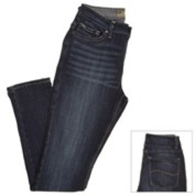 Stone Washed Stretch Waist Skinny Jeans
