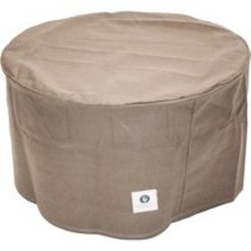 Duck Covers Elite 31 in. Round Patio Ottoman/Side