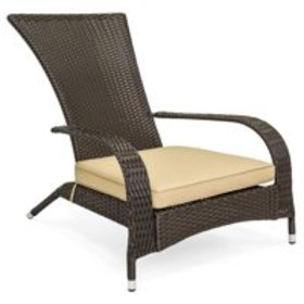 Best Choice Products All-Weather Wicker Adirondack