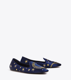 OLYMPIA EMBROIDERED LOAFER