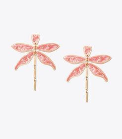 ARTICULATED DRAGONFLY EARRING