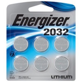 Energizer Lithium 2032, 6 pack