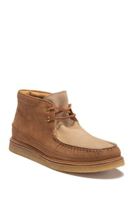 Sperry Gold Crepe Leather Chukka Boot