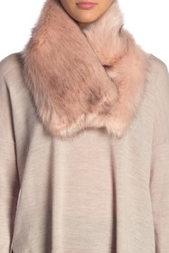 Michael Stars Make It Snappy Faux Fur Collar