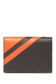 Salvatore Ferragamo Leather Flap Wallet