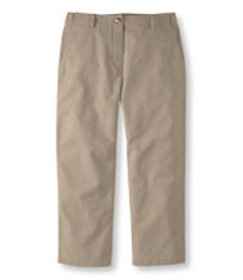 Wrinkle-Free Bayside Twill Pants, Cropped Classic