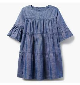 Sparkle Chambray Dress