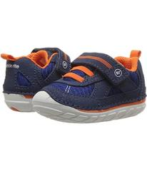 Stride Rite Navy/Orange Leather/Mesh