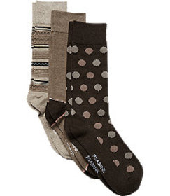 Jos. A. Bank Patterned Socks, 3-Pack CLEARANCE