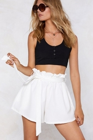 In the Bag High-Waisted Shorts