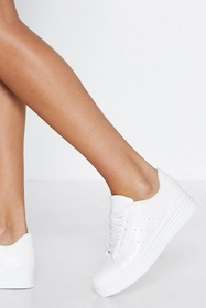 Practice Makes Perforated Sneaker