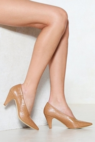 The Perfect Match Court Heel