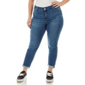 Junior Plus High Waisted Skinny Jeans