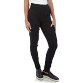 Juniors High Waisted No Muffin Top Skinny Jeans