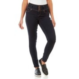 Juniors 3-Button Butt-Lifting Skinny Jeans