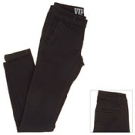 VIP Juniors Stretch Skinny Jeans with Rolled Cuffs