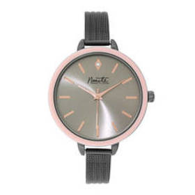 Womens Nanette Lepore Light Pink Case Watch-80853