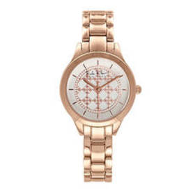 Womens Nicole Miller New York Rose Gold Watch - NY