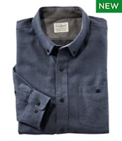 Lakewashed Flannel Shirt, Slightly Fitted Long-Sle