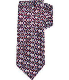 Signature Collection Floral Grid Tie CLEARANCE