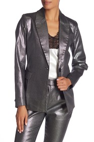 W118 by Walter Baker Elena Metallic Jacket