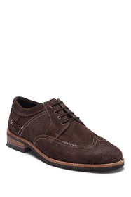 Ben Sherman Distressed Suede Wingtip Derby