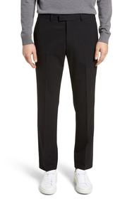 Theory Marlo Flat Front Stretch Wool Pants