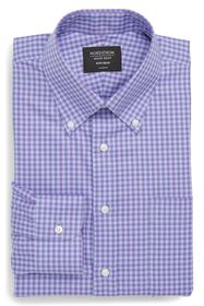 NORDSTROM MEN'S SHOP Classic Fit Non-Iron Gingham