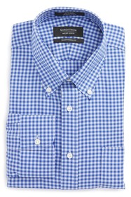 NORDSTROM MEN'S SHOP Traditional Fit Non-Iron Ging