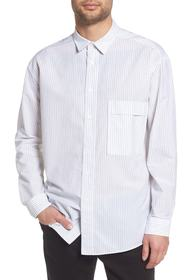 BOSS Ery Stripe Classic Fit Sport Shirt