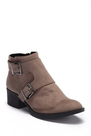 Kenneth Cole Reaction Re-Belle Monk Strap Suede An