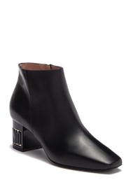 MOSCHINO Logo Leather Ankle Boot