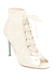 Betsey Johnson Marlo Lace Bootie