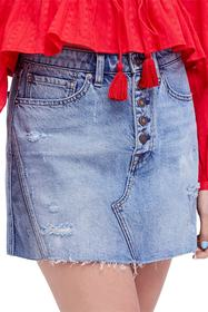 Free People We the Free by Free People A-Line Deni