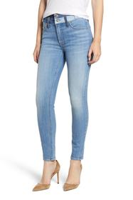 7 For All Mankind Double Patch Waist Ankle Skinny