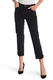 J Brand Johnny Straight Leg Jeans (Swathe Destruct