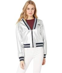 Juicy Couture Silver Foil Track Jacket