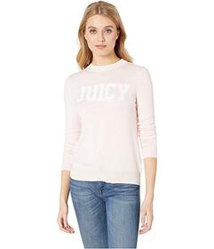 Juicy Couture Flocked Logo Sweater