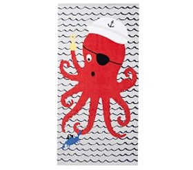 Pirate Octo Beach Towel