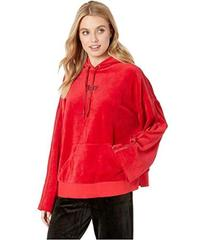 Juicy Couture Velour Side Slit Hoodie Pullover