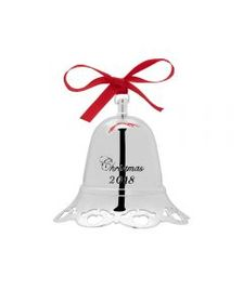 2018 Silver Plated Musical Bell Ornament 38th Edit