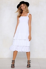 Stuck in the Midi With You Dress