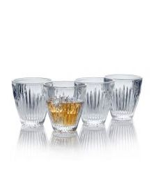 Set of 4 Double Old Fashioned Glasses