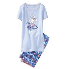 Bunny 2-Piece Shortie Pajamas