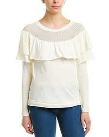 Aiden Aiden Mesh Detail Top~1411394033