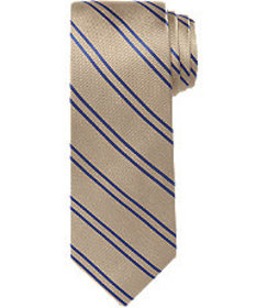 Traveler Collection Thin Stripe Tie - Long CLEARAN